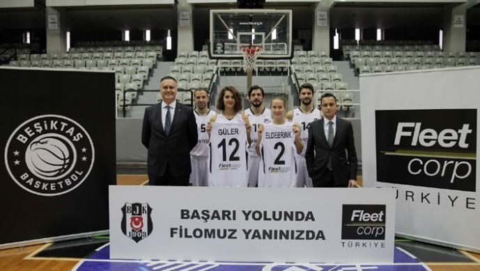 Fleetcorp, Beşiktaş Kadın Basketbol Takımı'nın sırt reklamı sponsoru oldu!