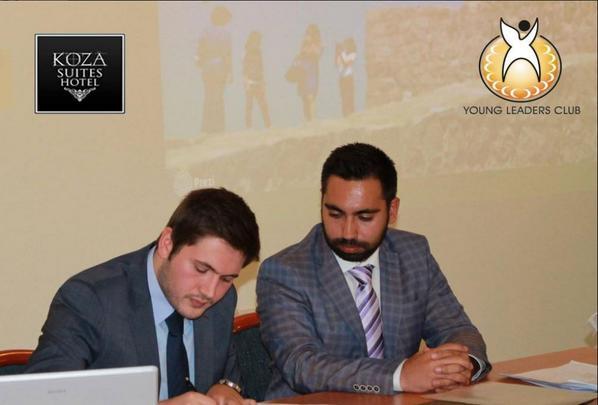 Bilkent Üniversitesi Genç Liderler Kulübü sponsorluk anlaşması