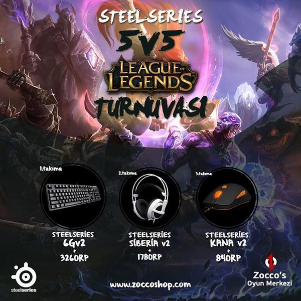 Steel Series sponsor oldu