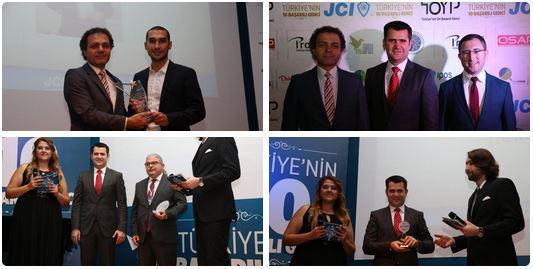 YTÜ Teknoloji Transfer Ofisi ödül törenine sponsor oldu