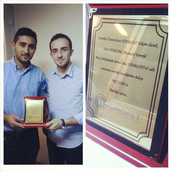 Priyoid ödül aldı