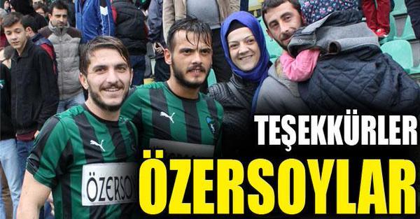 Kocaelispor'dan forma sponsoruna teşekkür mesajı