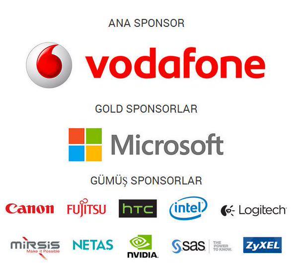Anasponsoru Vodafone olan CIO ödüllerinin diğer sponsorları