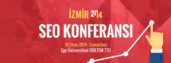 SEO Konferansı 2014 İzmir'e sponsor