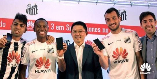 Huawei sponsor oldu