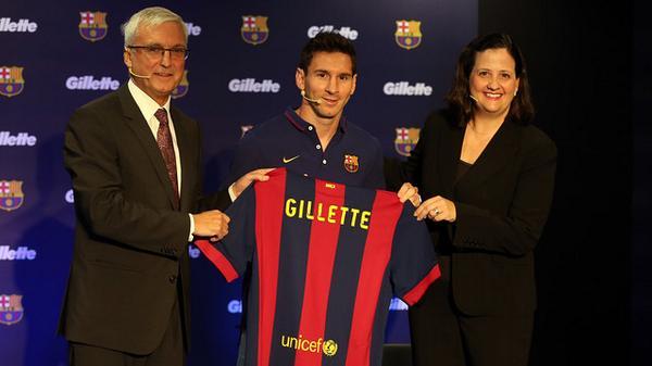 Gillette sponsor