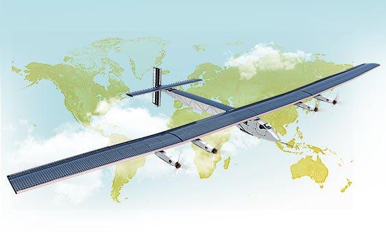 Brisa Güneş Enerjili Uçakla Dünya Turuna Sponsor Oldu