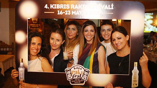 4. Kıbrıs Rakı Festivali Yeni Rakı Sponsorluğunda