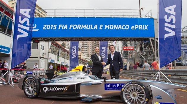 Elektrikli araçlar yarışı FIA Formula E'ye Vise Europe sponsor oldu