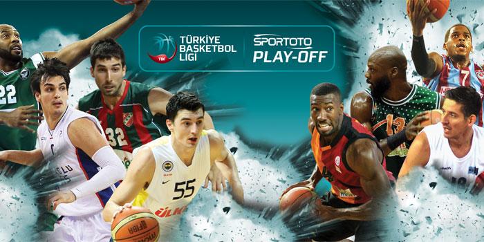 Spor Toto TBL Play-Off Sponsoru Oldu