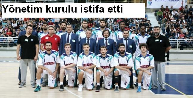 Denizli Basket'te yönetim kurulu istifa etti