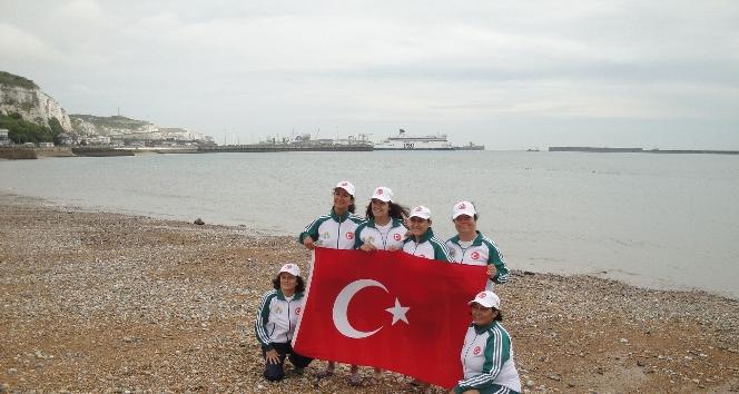 Adana BŞB destekledi Manş Denizi Geçildi