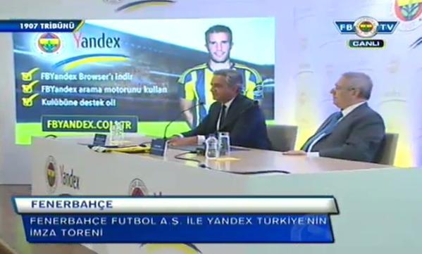 Fenerbahçe, Yandex Anlaşmasının Detayları