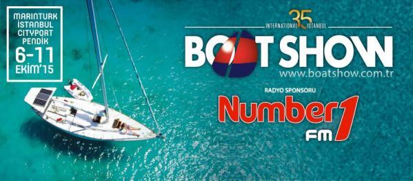 İstanbul Boat Show Nr1 FM'in Radyo Sponsorluğu'nda Gerçekleşiyor