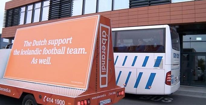 Hollanda Milli Futbol Takımı sponsoru Heineken'den İzlanda'ya dev destek