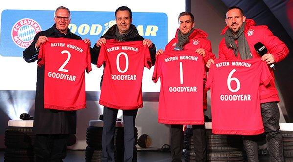 Goodyear, Bayern Münih'in Premium sponsoru oldu