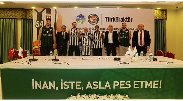 Türk Traktör Sakarya Basketbol'a Sponsor Oldu
