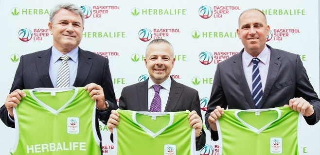 Herbalife Spor Toto Basketbol Ligi'nin Beslenme Sponsoru Oldu