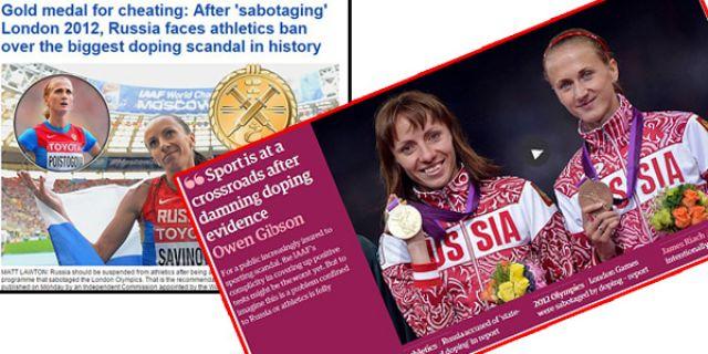 Rusya'nın devlet sponsorluğunda doping yapıldı iddiası