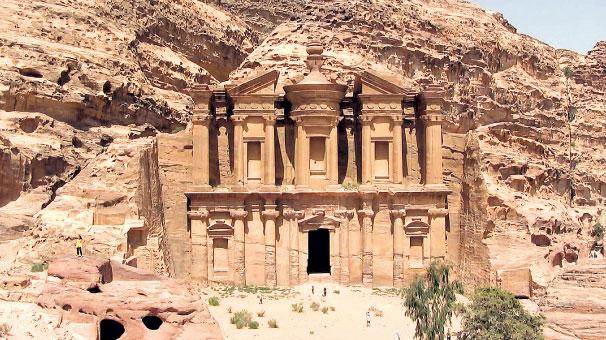 THY ile antik kent Petra arasındaki sponsorluk