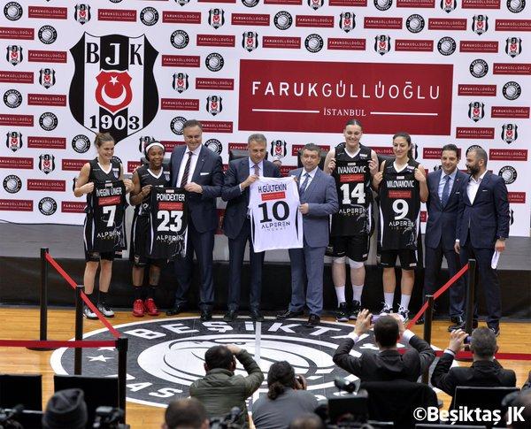 Beşiktaş – Faruk Güllüoğlu Kadın Basketbol anlaşmasının detayları