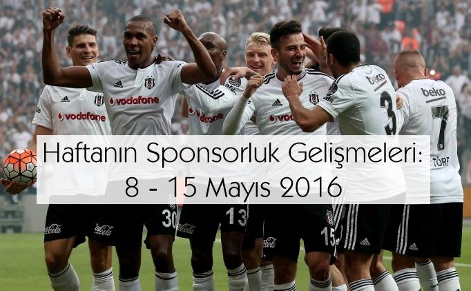Haftanın Sponsorluk Gelişmeleri: 9 – 15 Mayıs 2016