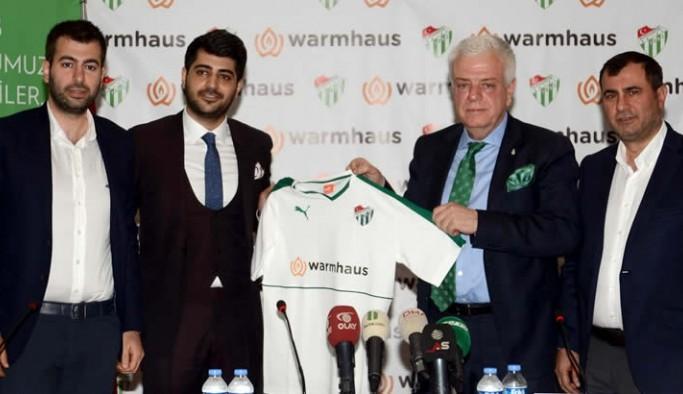 Bursaspor – Warmhaus Sponsorluk Anlaşması Detayları