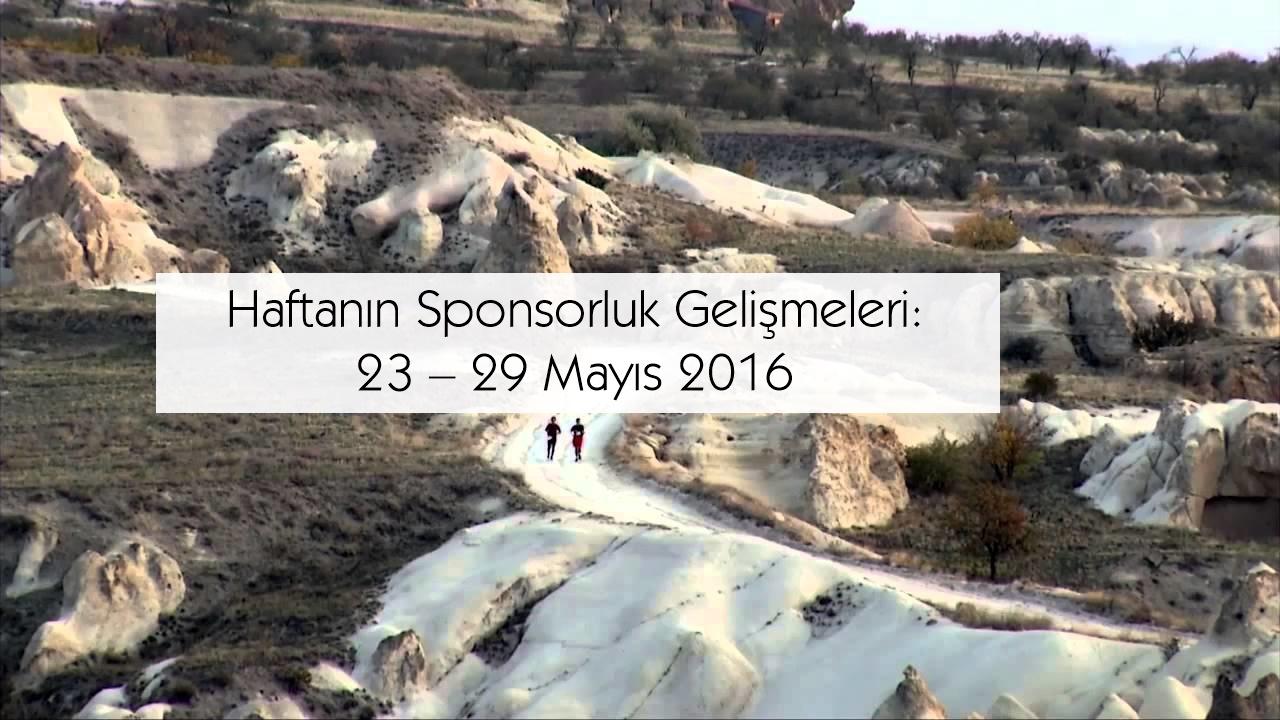 Haftanın Sponsorluk Gelişmeleri: 23 – 29 Mayıs 2016