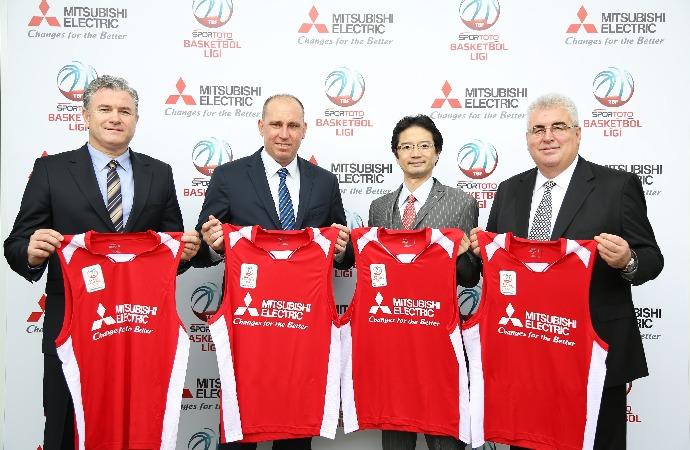 "Mitsubishi Electric, Spor Toto Basketbol Ligi'nin ""Konforlu Serinlik"" Sponsoru Oldu"