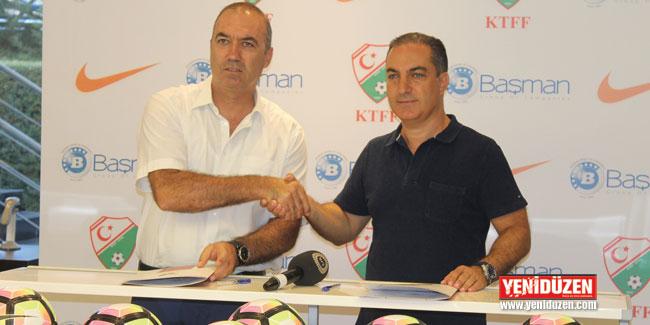 KTFF, yeni sezon için futbol topu sponsorunu buldu