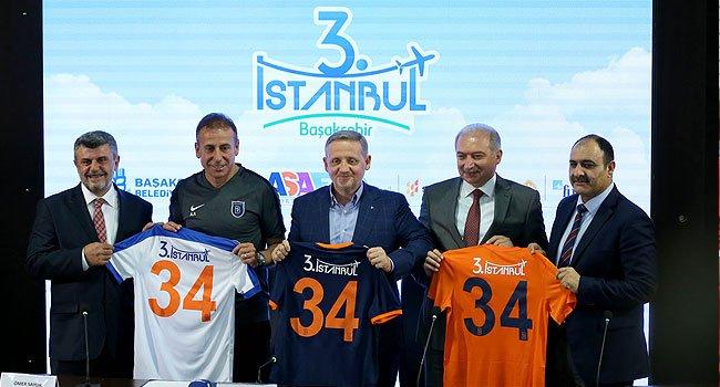 ASAF İş Ortaklığı, Medipol Başakşehir'in Sırt Sponsoru Oldu