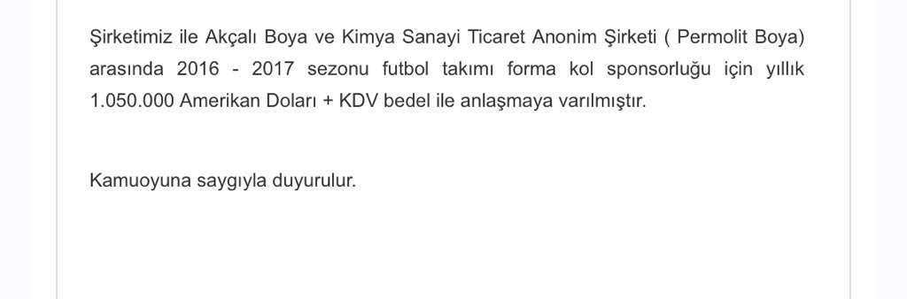 KAP Permolit - Galatasaray