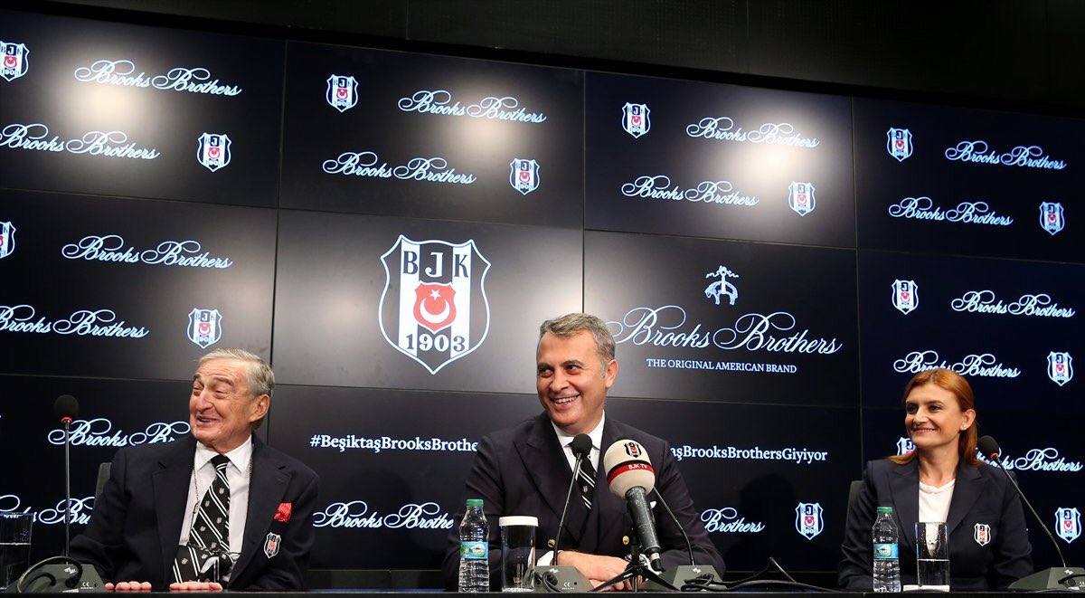 Brooks Brothers, Beşiktaş'ın giyim sponsoru oldu