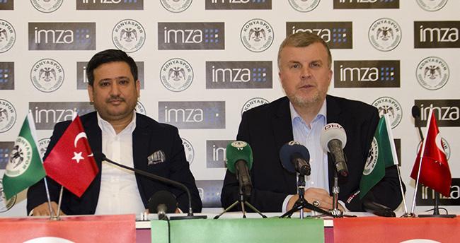 Konyaspor, İMZA ile sponsorluk anlaşması imzaladı