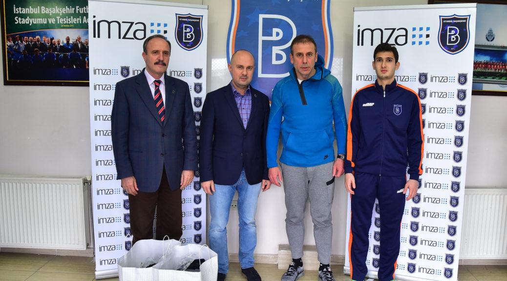 Medipol Başakşehir'den altyapıya İmza'lı destek