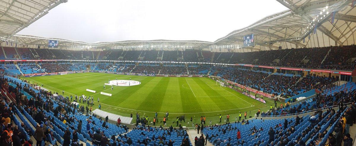 Trabzonspor Medical Park Arena'da ilginç detay