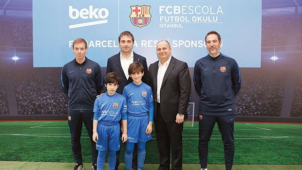 Beko, 'FCBEscola İstanbul 'a sponsor oldu