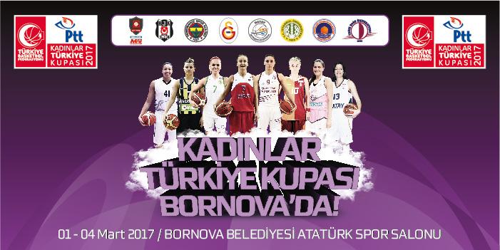 TBF Kadınlar Türkiye Kupası'na PTT isim sponsoru oldu