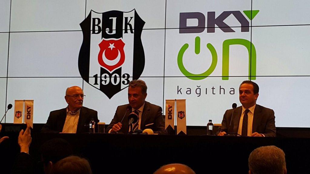 Beşiktaş, DKY İnşaat ile sponsorluk anlaşması imzaladı