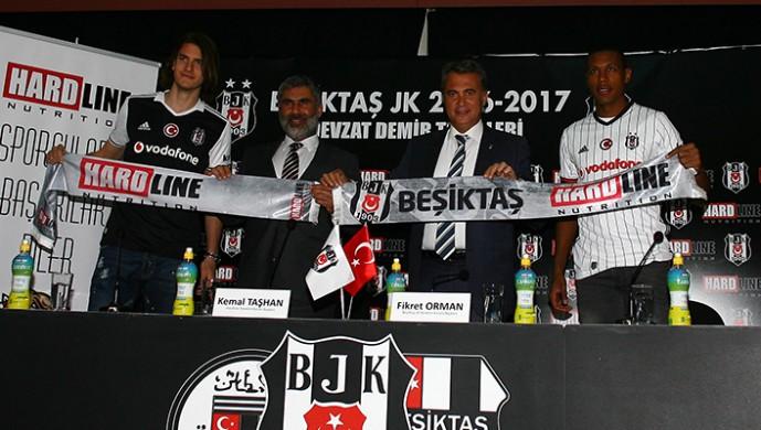 Beşiktaş, Hardline ile sponsorluk anlaşması imzaladı