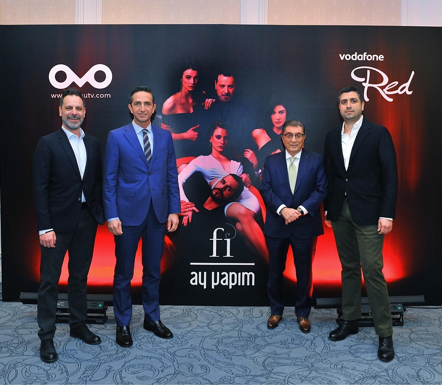 "Vodafone online dizi ""Fi""ye sponsor oldu!"