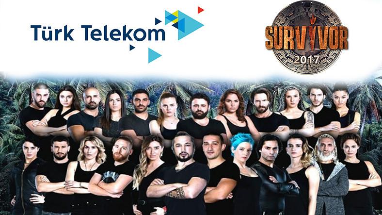 Türk Telekom'dan Survivor'a özel paket