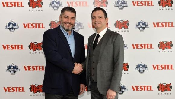Vestel, LoL Şampiyonluk Ligi'ne sponsor oldu