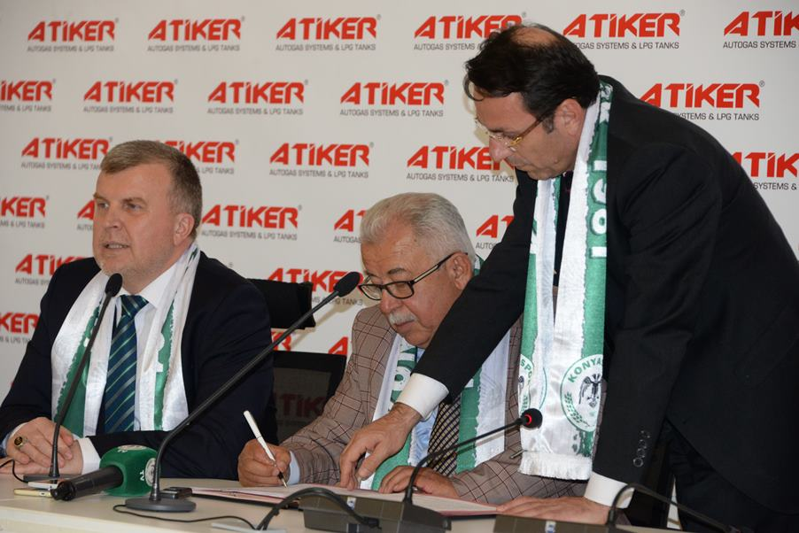 """Atiker: """"Konyaspor'a beklenti için değil, destek için sponsor olduk"""""""