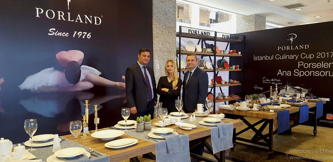 İstanbul Culinary Cup 2017 Porland Ana Sponsorluğunda Gerçekleşti