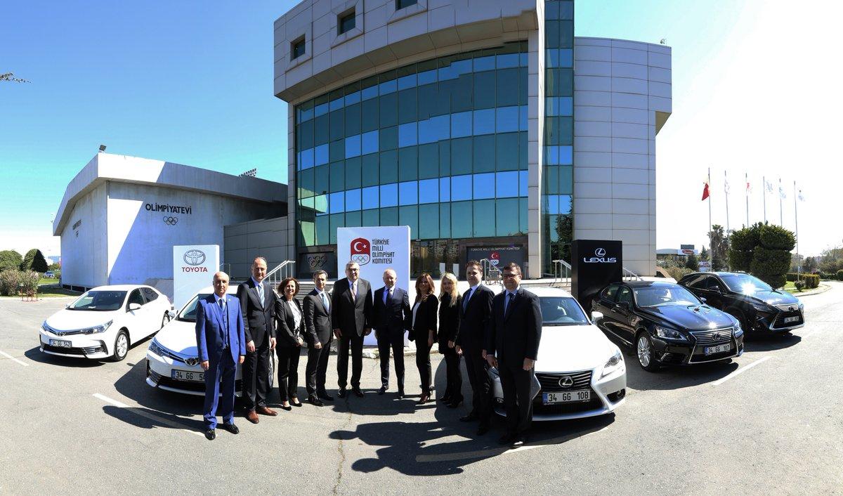 Toyota Türkiye Milli Olimpiyat Komitesi'nin Araç Sponsoru Oldu