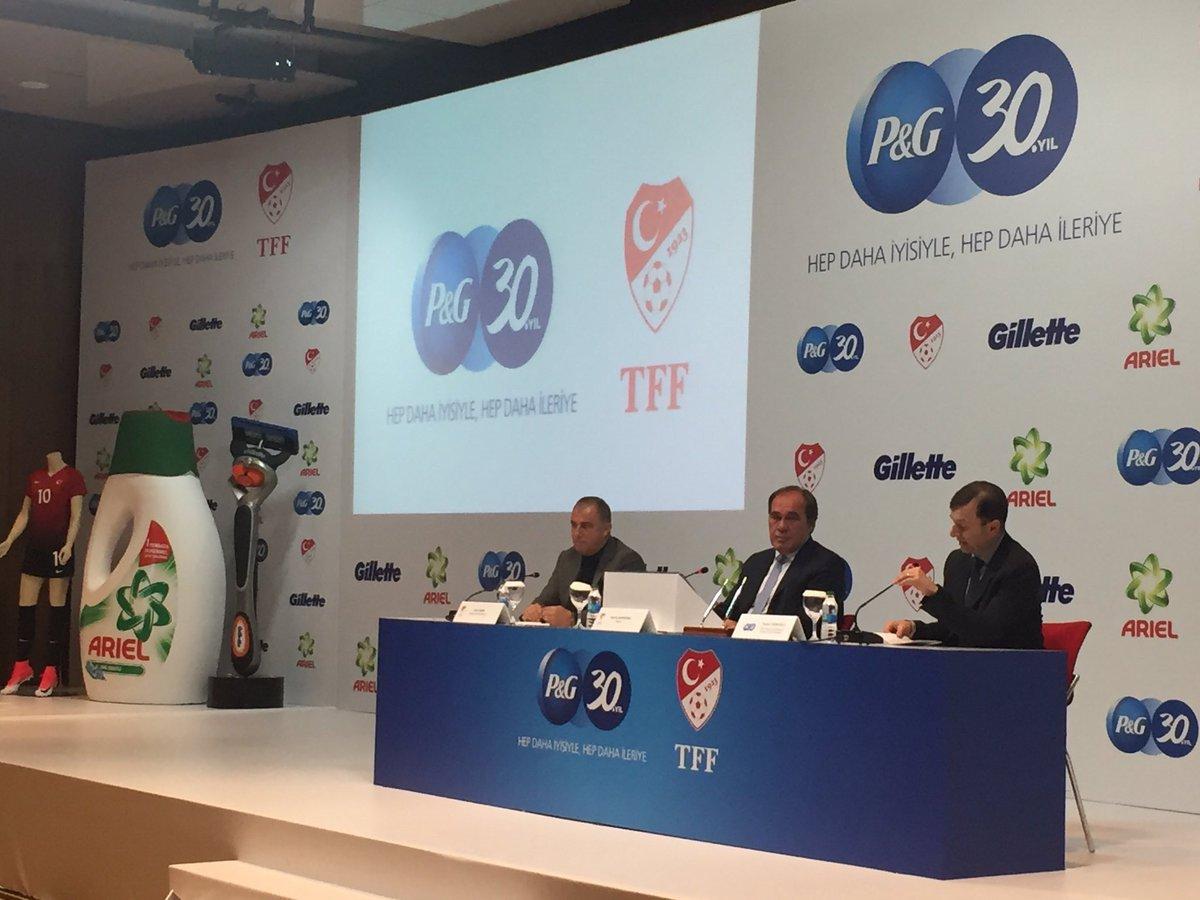 TFF, P&G ile sponsorluk anlaşması imzaladı
