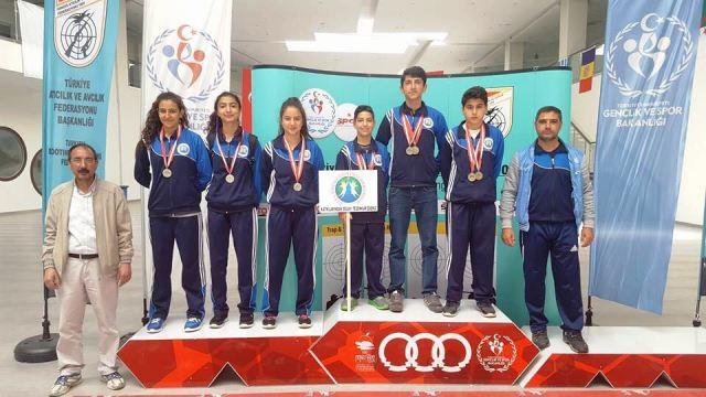 Mardin Özel Çocuk Dünyası sponsorluğunda önemli atıcılık başarısı