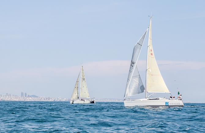 Deniz Kızı Ulusal Kadın Yelken Kupası'nda kazananlar belli oldu