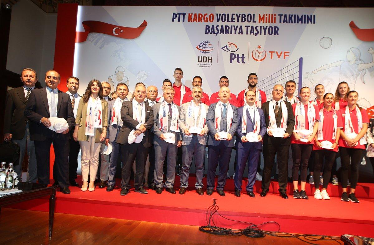 PTT, Türkiye Voleybol Federasyonu'nun resmi kargo sponsoru oldu
